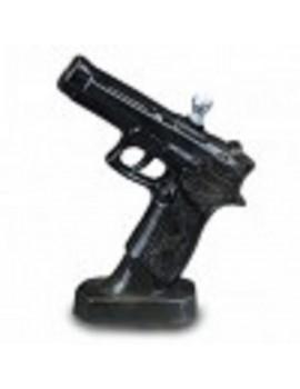Ceramic Bong - Black Pistol