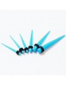 Light Blue UV Acrylic Taper