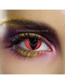 Red Cat Eye Contact Lenses