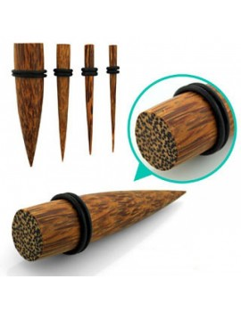 Coconut Wood Taper