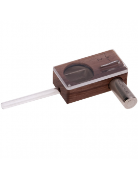Magic Flight Launch Box Vaporizer - Walnut Wood