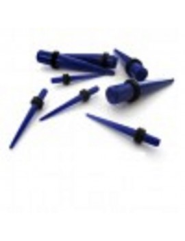 Blue UV Acrylic Tapers