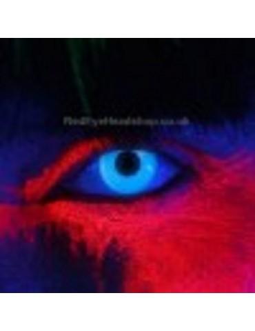 i-Glow Blue UV Contact Lenses