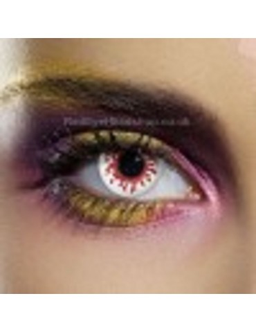 Blood Splat Contact Lenses