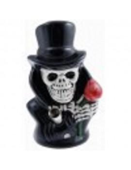 Ceramic Bong - Skull in Top Hat