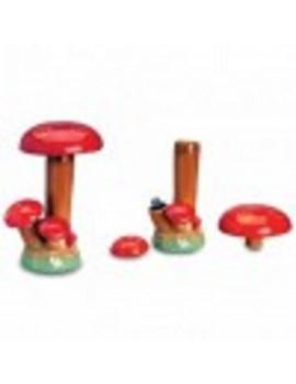 Ceramic Bong - Disguise Mushroom